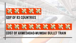 Ahmedabad-Mumbai Bullet Train Project to Cost More Than GDP of These Countries