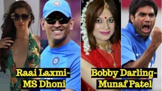 Raai Laxmi-MS Dhoni, Bobby Darling-Munaf Patel & Other Actress-Cricketer Pairs Who Were Rumoured to be 'Girlfriend-Boyfriend'