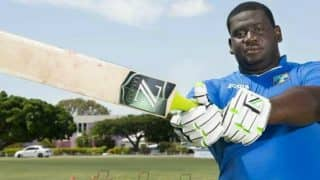 'Big Man' Rahkeem Cornwall Hammers Sixes at Will in CPL Match, Watch Video