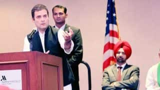 Rahul Gandhi Addresses NRIs Congress Supporters at Times Square in New York, Says Contribution of Many Went Unsung
