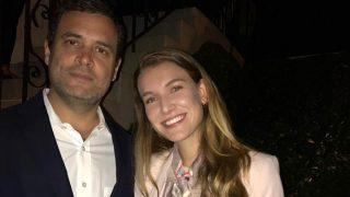 Rahul Gandhi's Photo With Spanish Actress Nathalia Ramos Goes Viral
