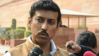 Sports Fraternity Welcomes Rathore's Appointment