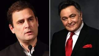 Rishi Kapoor Lashes Out At Rahul Gandhi, Says You Have To Earn People's Respect And Love