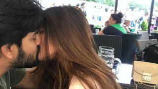 Riya Sen Shares Adorable Honeymoon Pic Kissing Husband Shivam Tewari