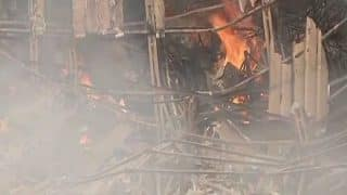 RK Studio Blaze: Fire Operation Ends After Two Hours, Over Half of Studio Gutted