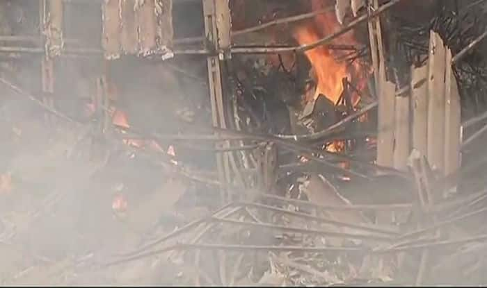 Massive fire damages popular RK Studio in Mumbai
