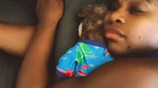 Official Instagram Handle of Alexis Olympia Shares Adorable Snap of Serena Williams Napping