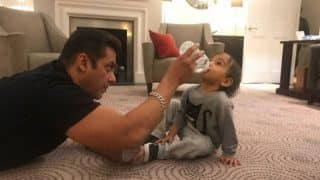 Cuteness Alert! Salman Khan And Nephew Ahil's Quality Time In London Is Unmissable - View Pic