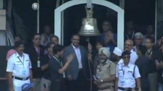 India vs Australia: Virender Sehwag and Jhulan Goswami Ring the Bell to Continue New Tradition at Eden Gardens