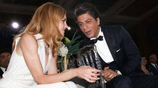 Russian Model Natalia Vodianova FINALLY Met Her Teenage Crush Shah Rukh Khan At The Vogue Women Of The Year Award-View Pic