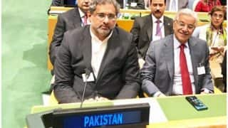 Pakistan PM Shahid Abbasi Says The Country Has Short-Range Nuclear Missile to Counter India