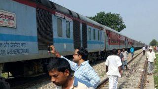 एक महीने में रेलवे की पांचवीं बड़ी चूक, दो हिस्सों में बंटी शिवगंगा एक्सप्रेस
