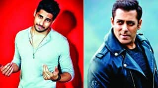 Sidharth Malhotra To Be A Part Of Salman Khan And Jacqueline Fernandez Starrer Race 3?