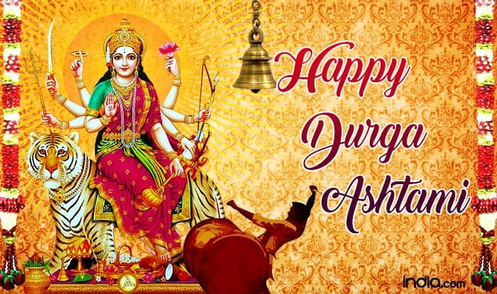 Happy Durga Ashtami 2019: Wish Your Loved Ones With Best Quotes, WhatsApp Messages, SMS And Greetings on 8th Day of Chaitra Navratri