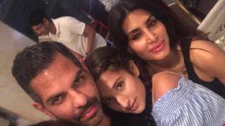 Karisma Kapoor's Ex-Husband Sunjay Kapur Happily Pose For A Selfie With Priya Sachdev Kapur – View Pic