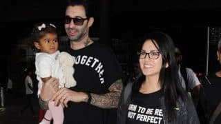 Aww! Sunny Leone-Daniel Weber And Their Daughter Nisha Are All Smiles For The Paparazzi – View Pics