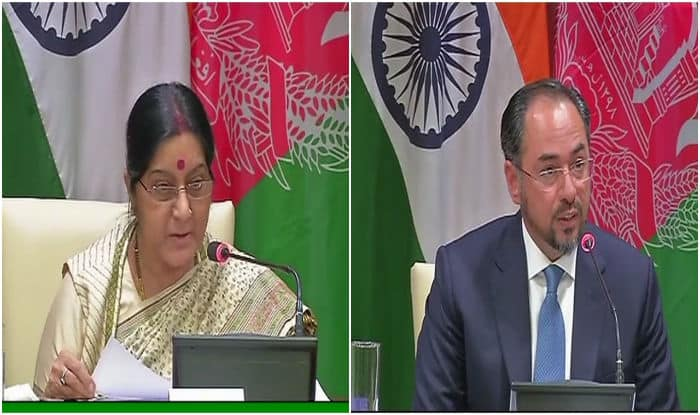 Strategic partnership with Afghanistan article of faith for India: Sushma Swaraj