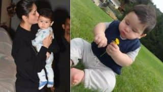 Taimur Ali Khan Kissed by Mom Kareena in New Picture is Sweeter than His Picture of Holding Flower