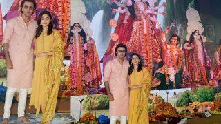 Ranbir Kapoor And Alia Bhatt Attend Durga Puja Together, Their Film To Go On Floors Soon? (View Pics)