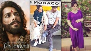 Shahid Kapoor's Padmavati Look; Dimple Kapadia – Sunny Deol's London Rendezvous, Soha Ali Khan – Kunal Kemmu's Baby Girl: Bollywood Week In Review