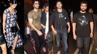 Varun Dhawan, Ranbir Kapoor, Arjun Kapoor Do The Weekend Right As They Party Hard - View Pics