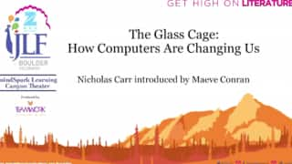 Zee JLF Boulder 2017: The Glass Cage - How Computers are Changing Us