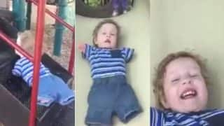 From Amitabh Bachchan to Anand Mahindra Everybody is Inspired by Video of Toddler with No Limbs Playing in the Park