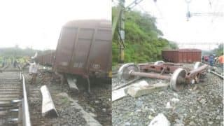Third Derailment Incident of the Day: Six Wagons of Goods Train Go Off Track in Khandala, Maharashtra