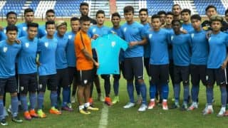 India's Football Team's Official Jersey Launched Ahead of Under 17 World Cup