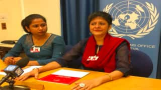 Representatives of WeSpeakOut, Change.org Discuss Female Genital Mutilation in India at UNHRC