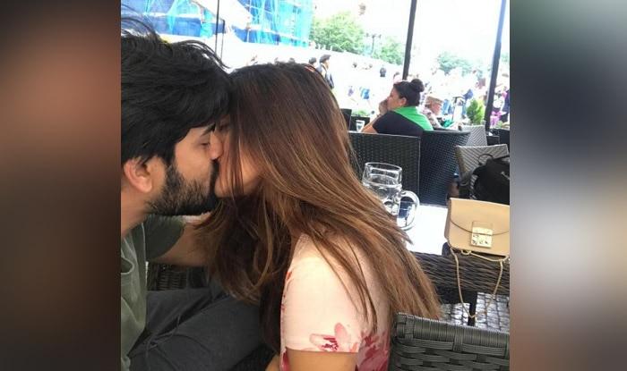 Riya Sen Shares a Passionate Kiss With Husband Shivam Tewari