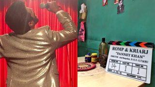 Aishwarya Rai Bachchan, Anil Kapoor And Rajkummar Rao Start Shooting For Fanney Khan - View Pic