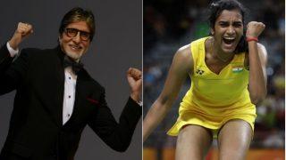 सिंधु ने ओकुहारा से लिया हार का बदला तो अमिताभ बच्चन ने किया ये शानदार ट्वीट