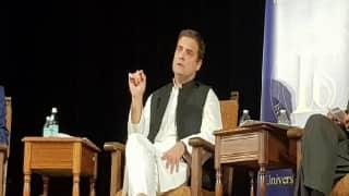 Rahul Gandhi at UC Berkeley: Arrogance Crept Into Congress, we Stopped Having Conversation With People