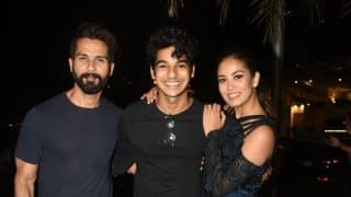 Shahid Kapoor Walks Hand In Hand With Mira Rajput After Celebrating Her Birthday, Ishaan Khatter Joins Them - See Pics