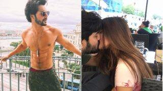 """Varun Dhawan Flaunting His """"Cheap"""" Underwear, Riya Sen's Passionate Lip Lock With Her Hubby – A Look At The Pictures That Went Viral This Week"""