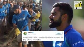 Virat Kohli Called a 'Sweeper' by Australian Journalist Ahead of Pakistan vs World XI Match: Journo Gets Trolled by Cricket Fans