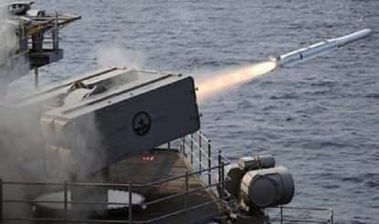 Pakistan Navy Conducts Live Weapon Firing in Arabian Sea, Launches Anti-Ship Missile