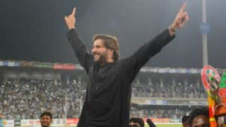 Shahid Afridi Lits up Lahore's Gaddafi Stadium During His Farewell Reception, Watch Video