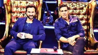 Akshay Kumar And Saif Ali Khan Shake A Leg To Main Khiladi Tu Anari on The Great Indian Laughter Challenge