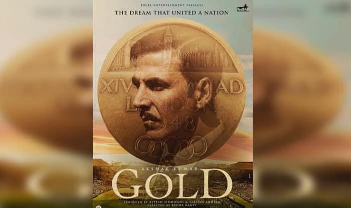 Akshay Kumar Celebrates His Golden Jubilee With 'Gold' Poster!
