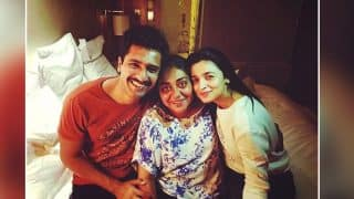Raazi First Schedule Wrapped Up; Alia Bhatt, Vicky Kaushal And Meghna Gulzar Celebrate With A Cheerful Picture