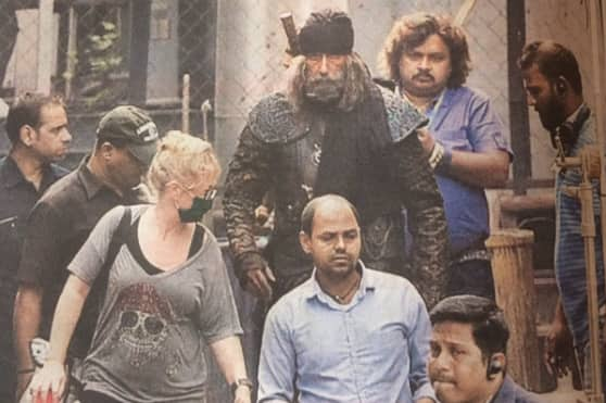 After Aamir, Big B's terrifying look from Thugs of Hindostan leaked!