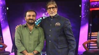 अमिताभ बच्चन के साथ हॉट सीट पर बैठ आनंद कुमार ने खेला केबीसी का गेम, जीत लिए 25 लाख रुपए