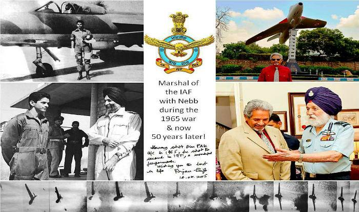 रिटायर्ड विंग कमांडर विनोद नेब ने मार्शल अर्जन सिंह को याद किया