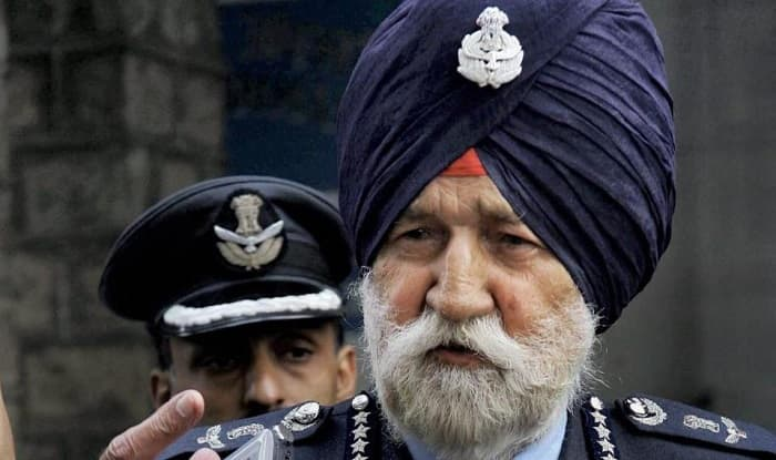 File image of Air Marshal Arjan Singh, who died on Saturday after suffering cardiac arrest (PTI)