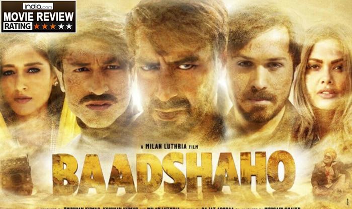 baadshaho movie review ajay devgn emraan hashmi strike