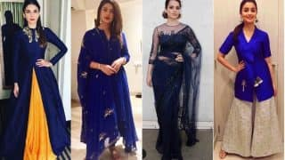 Navratri 2017 Day 7 Color Royal Blue: Wear Stunning Blue Shade in 5 Different Ways on Saptami!