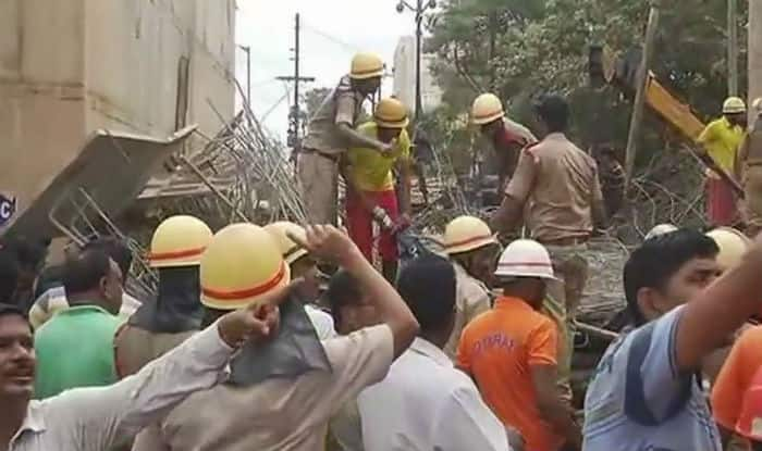Bhubaneswar: 2 dead, few feared trapped as under-construction flyover collapses
