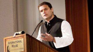 Rahul Gandhi Interaction With Students at Princeton University Live Streaming on nic.in